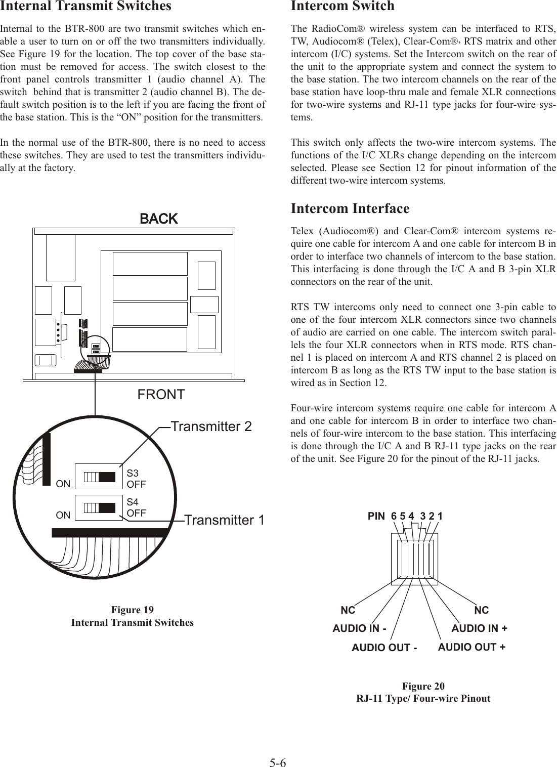 Bosch Security Systems M529 UHF Audio Base Station User Manual ...