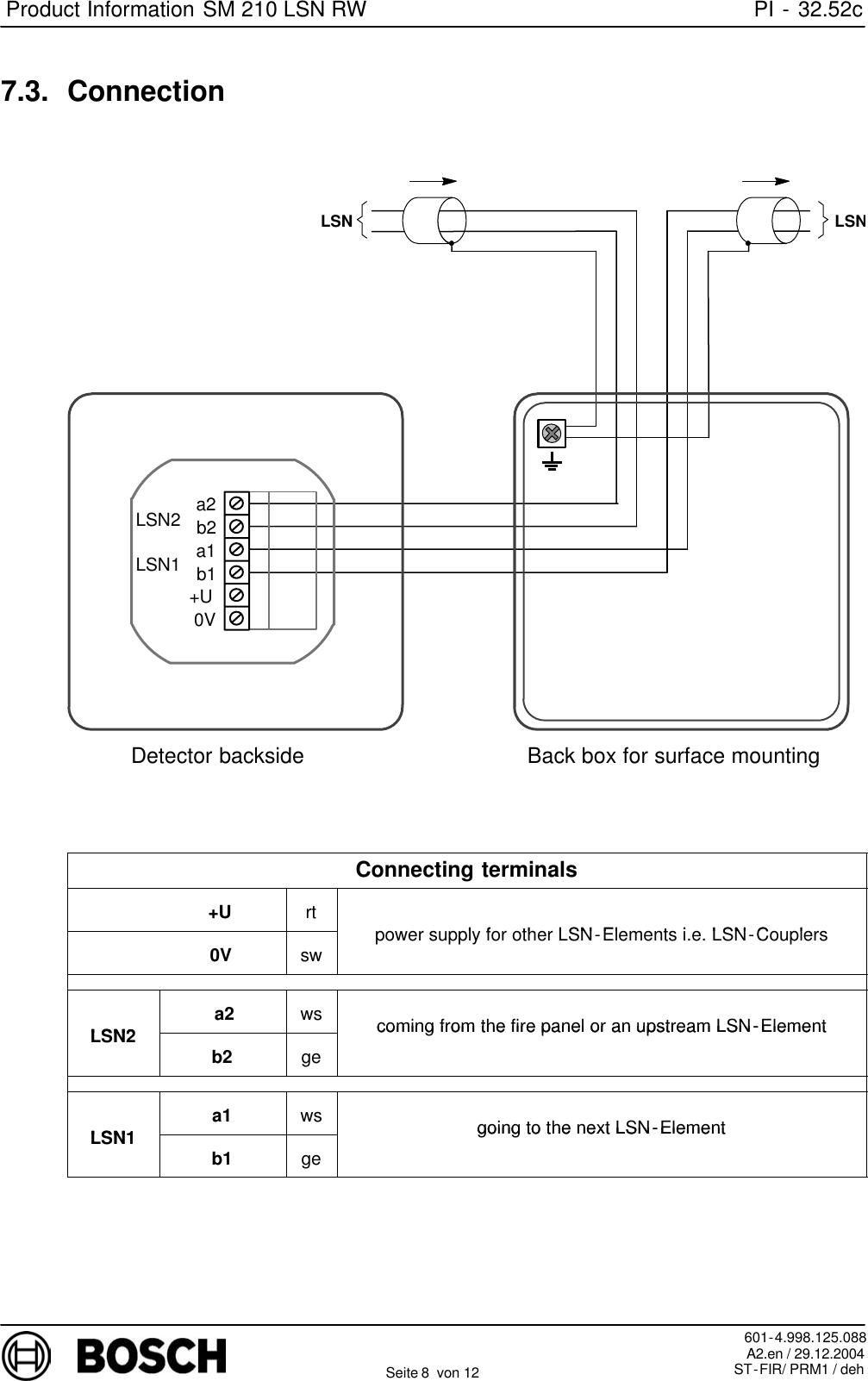 Boschhome Bosch Appliances Smoke Alarm Sm 210 Lsn Rw Users Manual ...