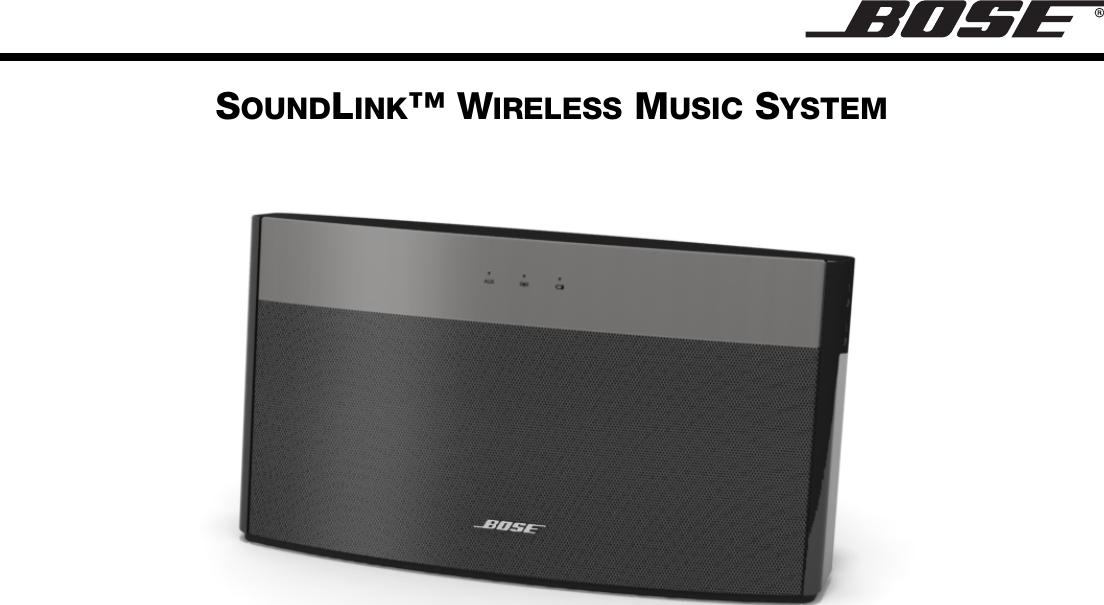 bose 404096a soundlink wireless music system user manual pharosog rh usermanual wiki Battery for Bose SoundLink Air Bose SoundLink Review