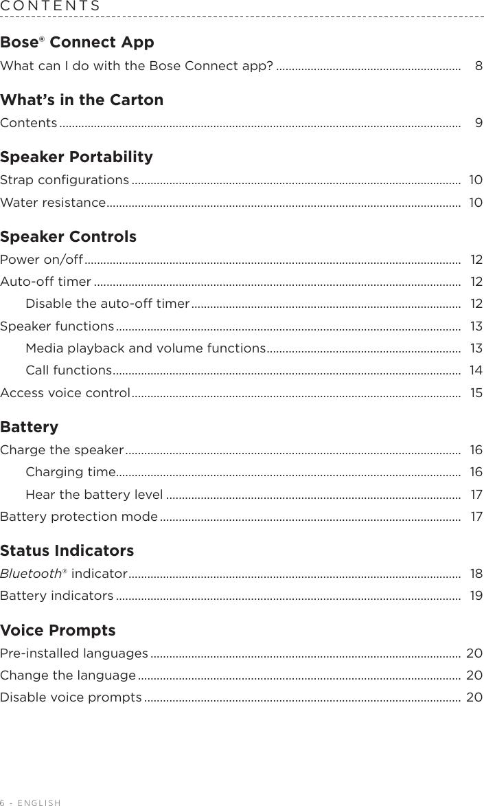 Bose 791854 Og Soundlink micro En