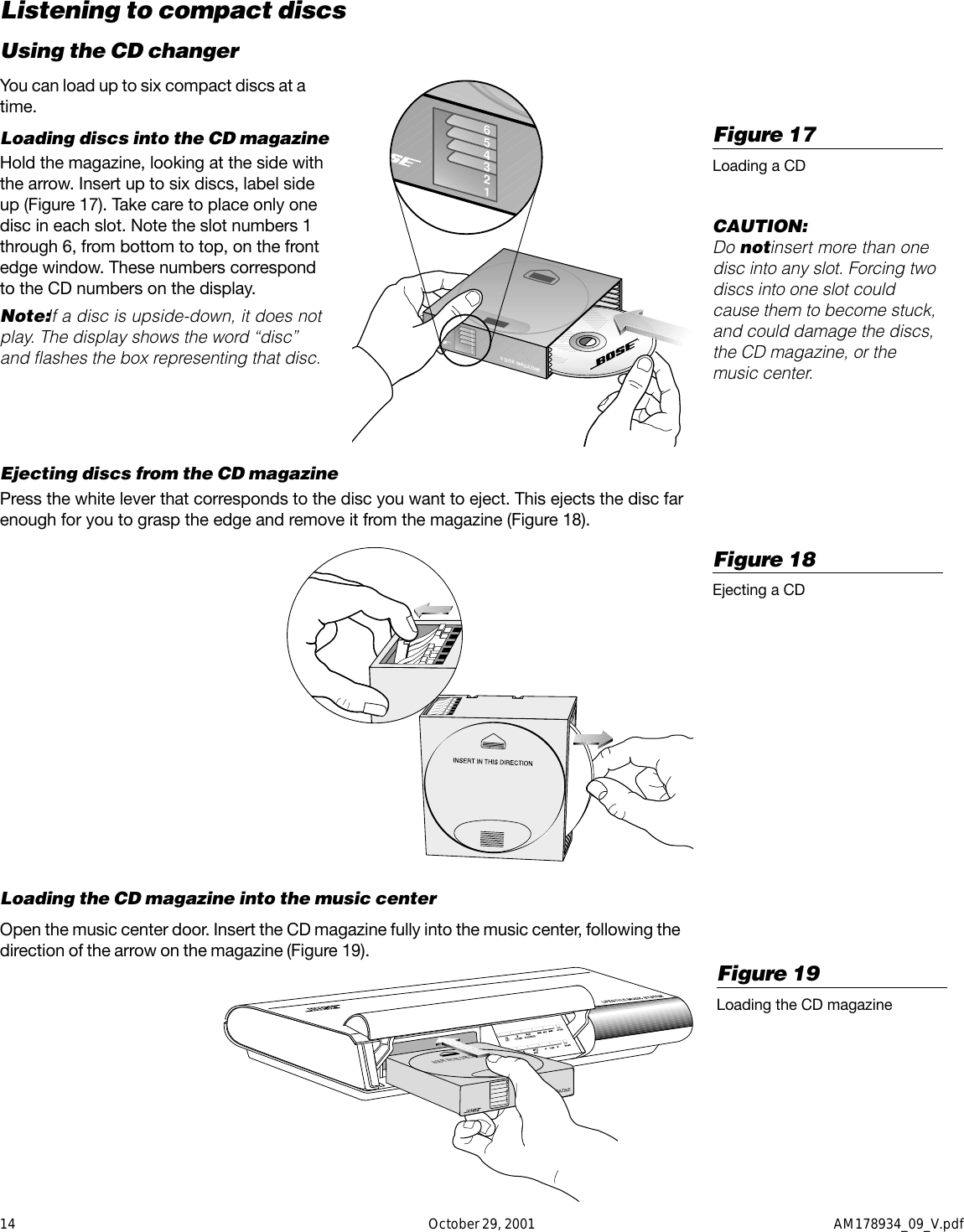 Bose Lifestyle 20 Users Manual