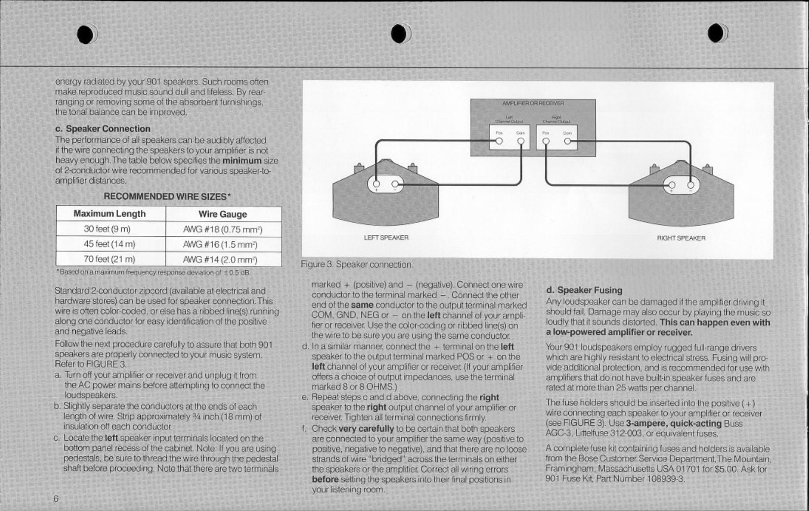 Bose Owg En 901 Series Iv Speaker Wiring Diagram Page 6 Of 12