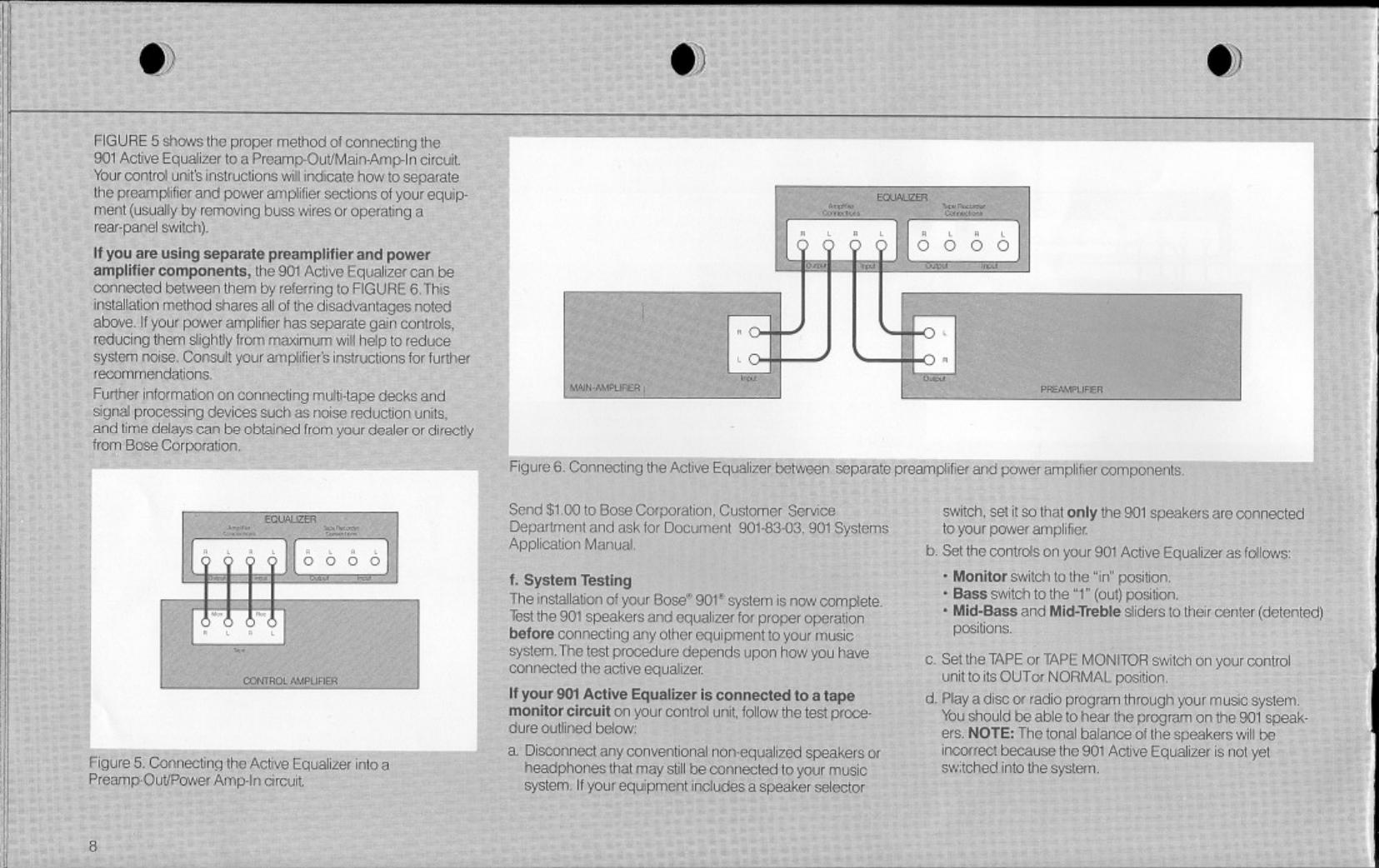 Bose Owg En 901 Series Using Equalizer Wiring Diagram Page 8 Of 12