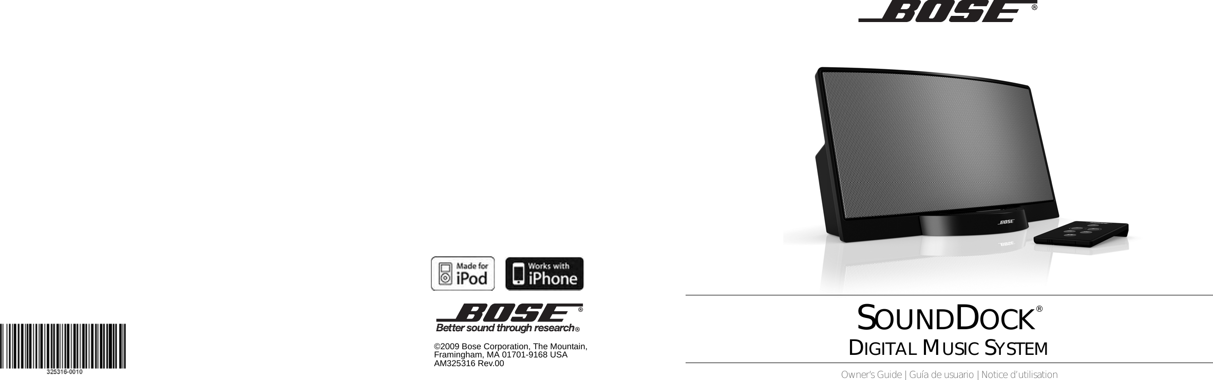 Bose Owg En Sounddock Series SI Cover_8 5x5 5