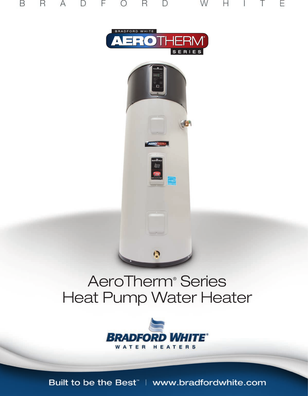 Bradfordwhite Brochure Aerotherm Athrmb User Manual Bradford White Water Heater Wiring Diagram
