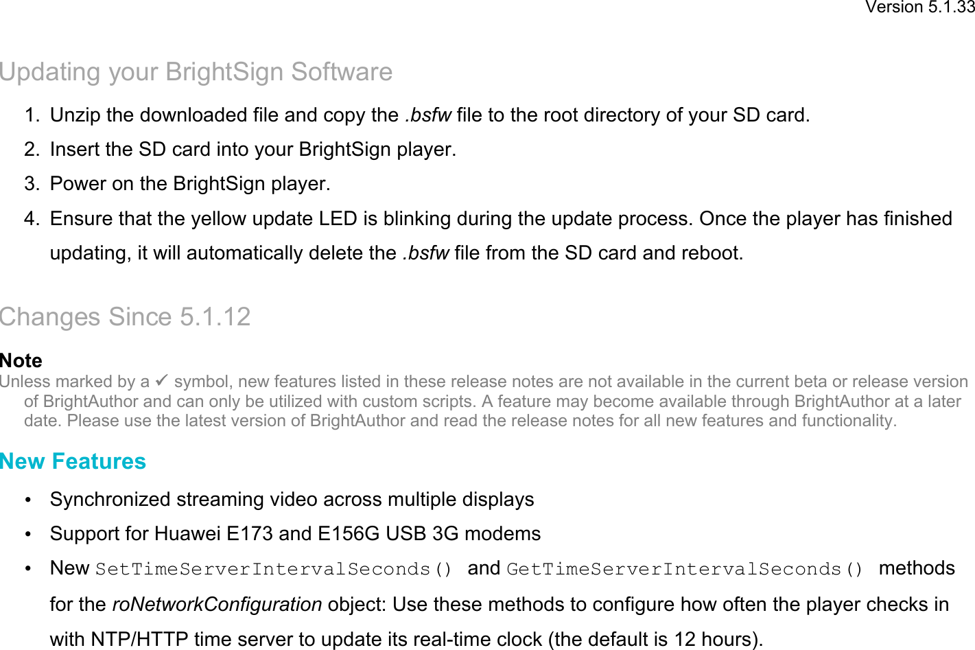 FW 5 1 33 Release Notes (HD120, HD220, HD1020)x HD1020)