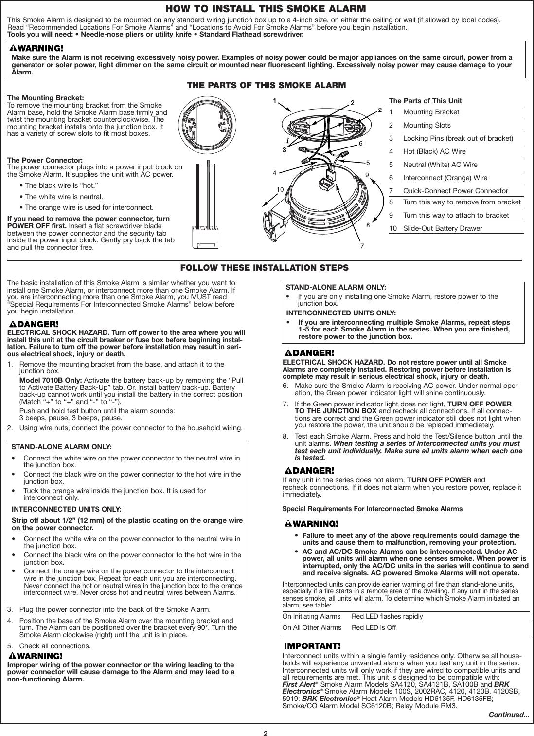Brk Electronic 7010 Users Manual M08_0050_000_E(7010)WEB