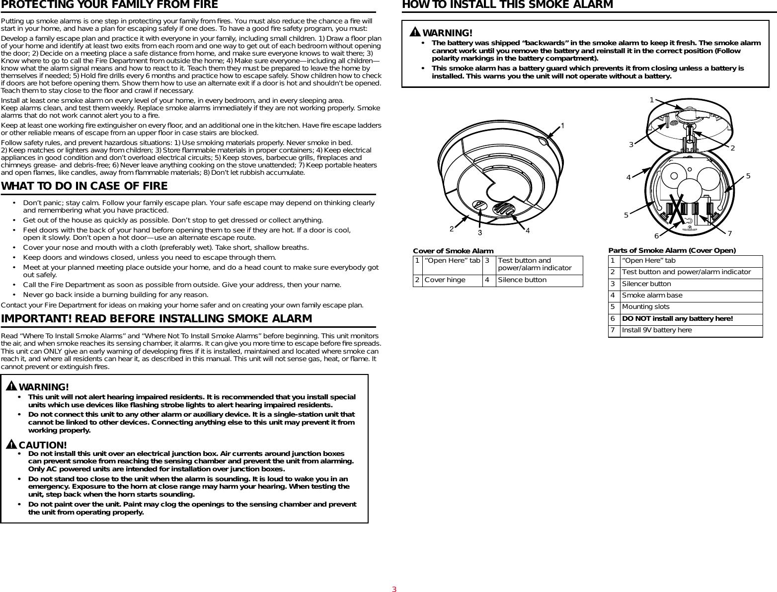 Brk Electronic Smoke Alarms Users Manual