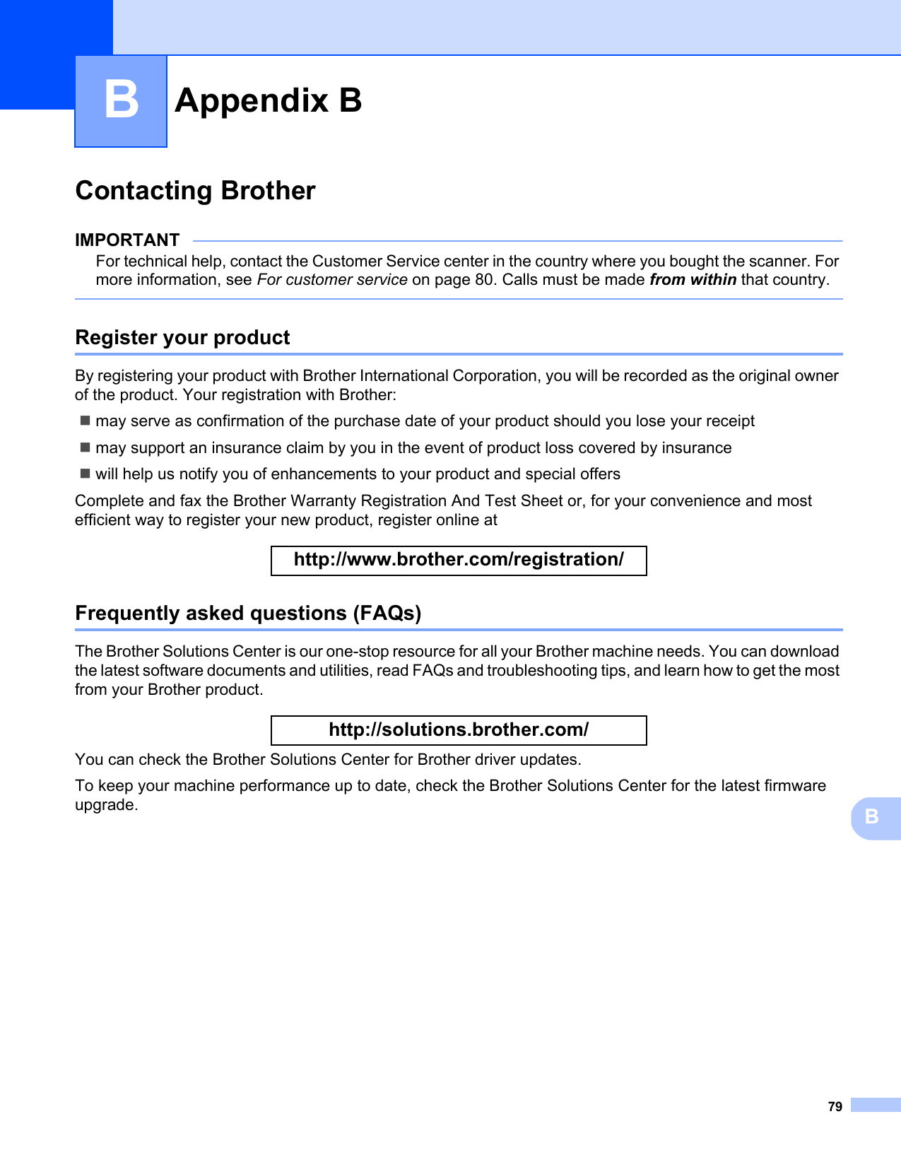 Brother Utilities Download