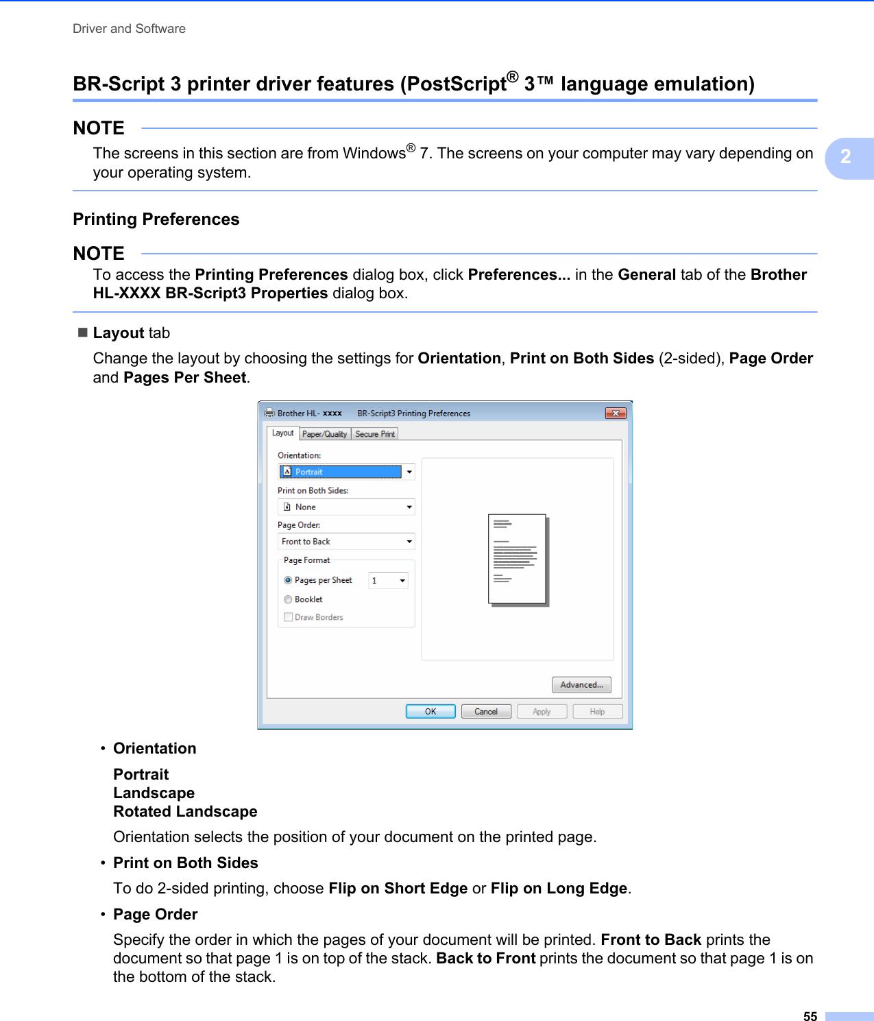 Brother Hl L8250Cdn Users Manual