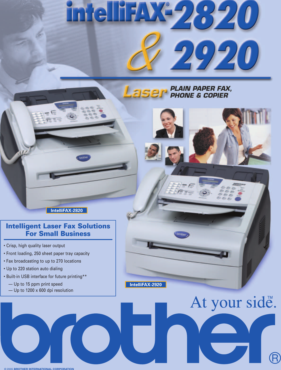 Page 1 of 2 - Brother Brother-Laser-2820-Users-Manual-