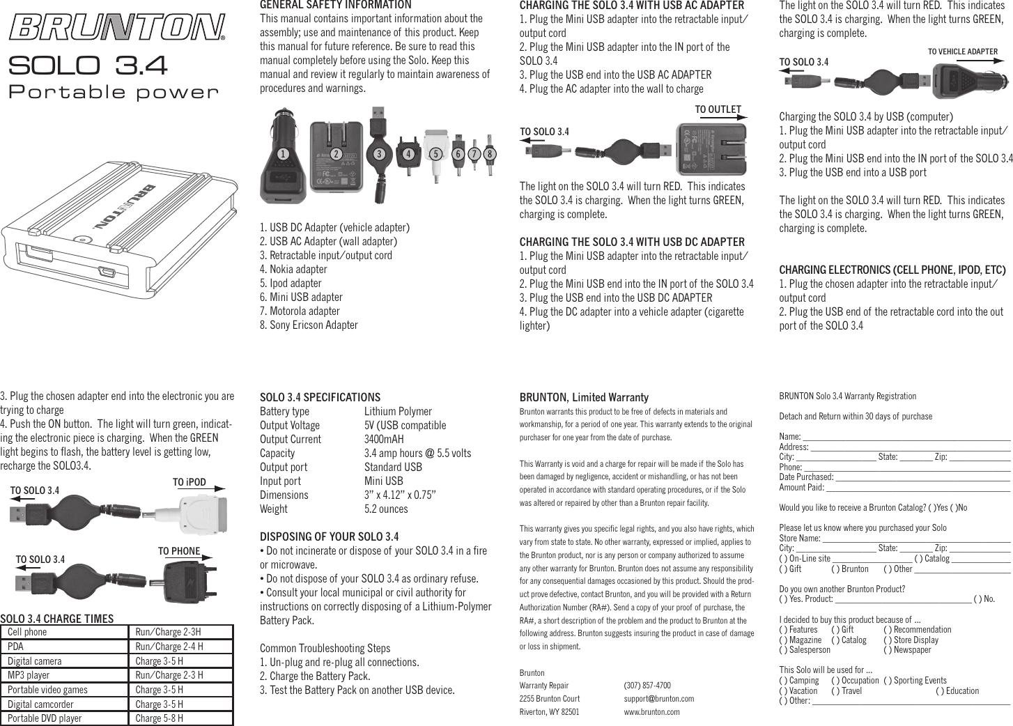 brunton solo 3 4 users manual 3 4 rh usermanual wiki brunton pulse 1500 user manual brunton pulse 1500 user manual
