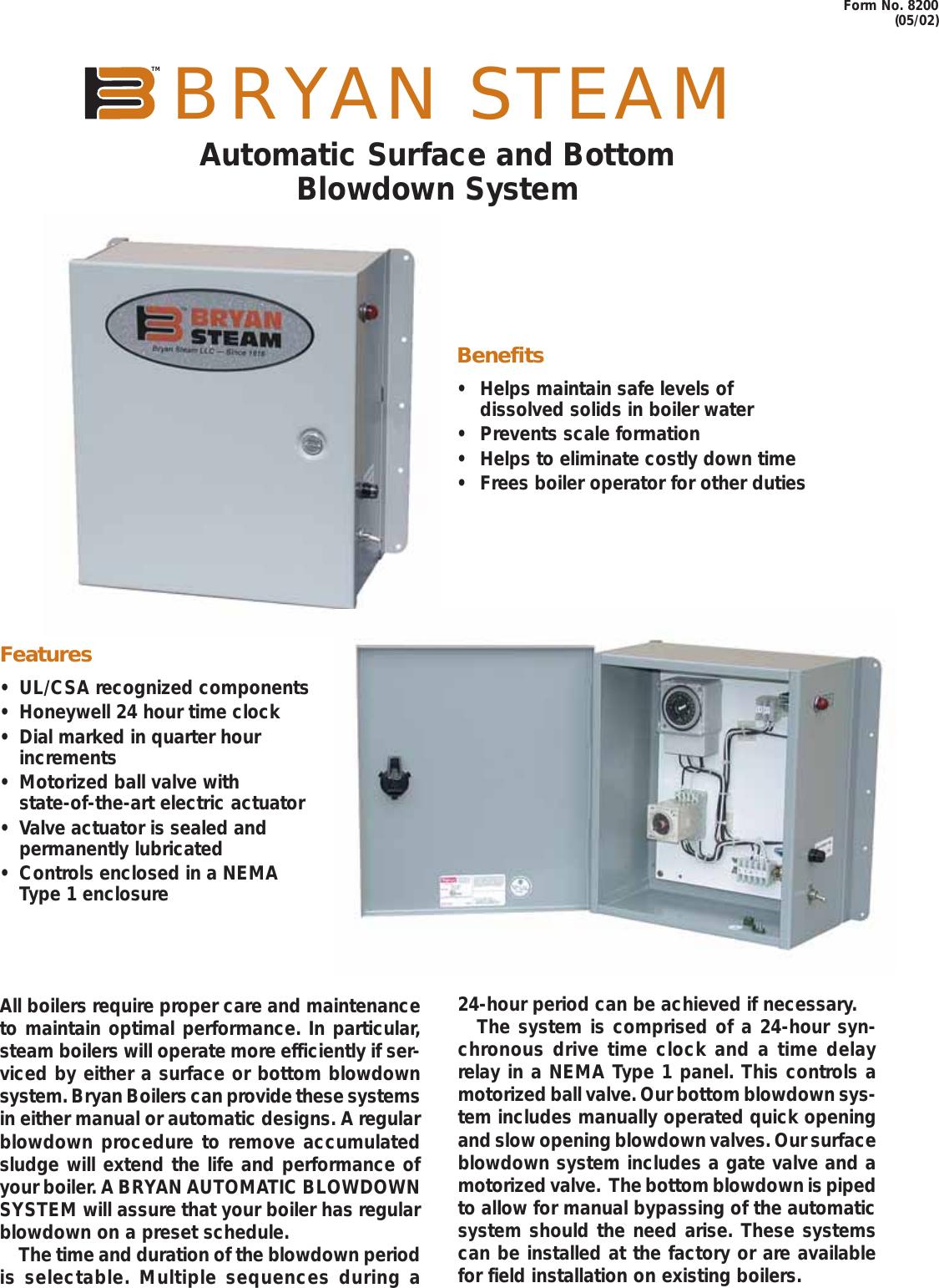 Bryan Boilers Cl Series Users Manual