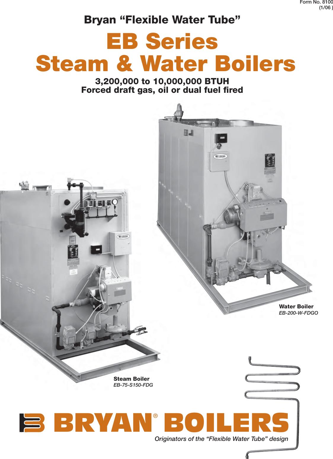 Awesome Bryan Boilers Eb 200 W Fdgo Users Manual Bys7447 Eb Steam Water Boilers Wiring Cloud Usnesfoxcilixyz