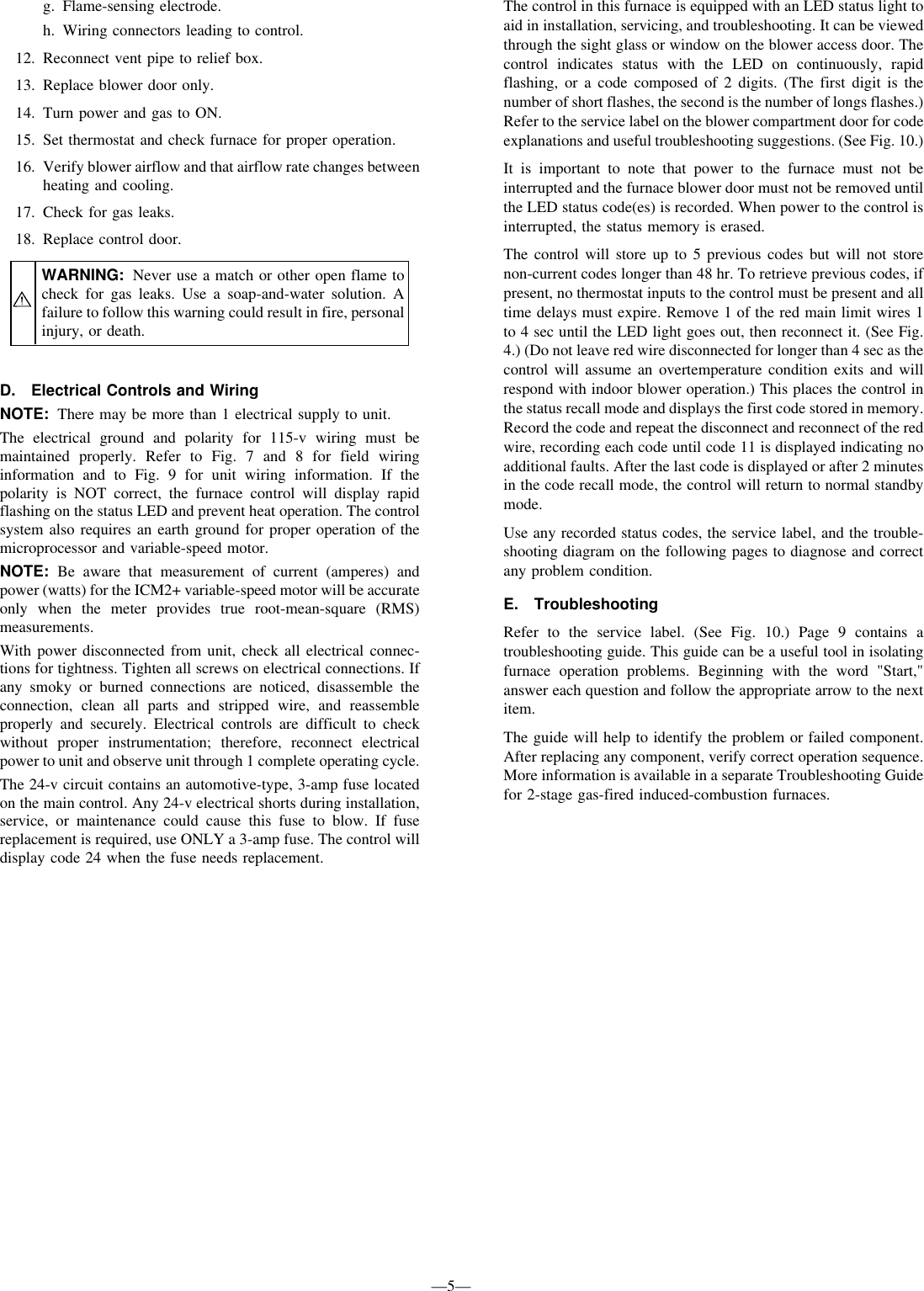 Bryant Induced Combustion 333bav Users Manual Humidifier Wiring Diagram Page 5 Of 12