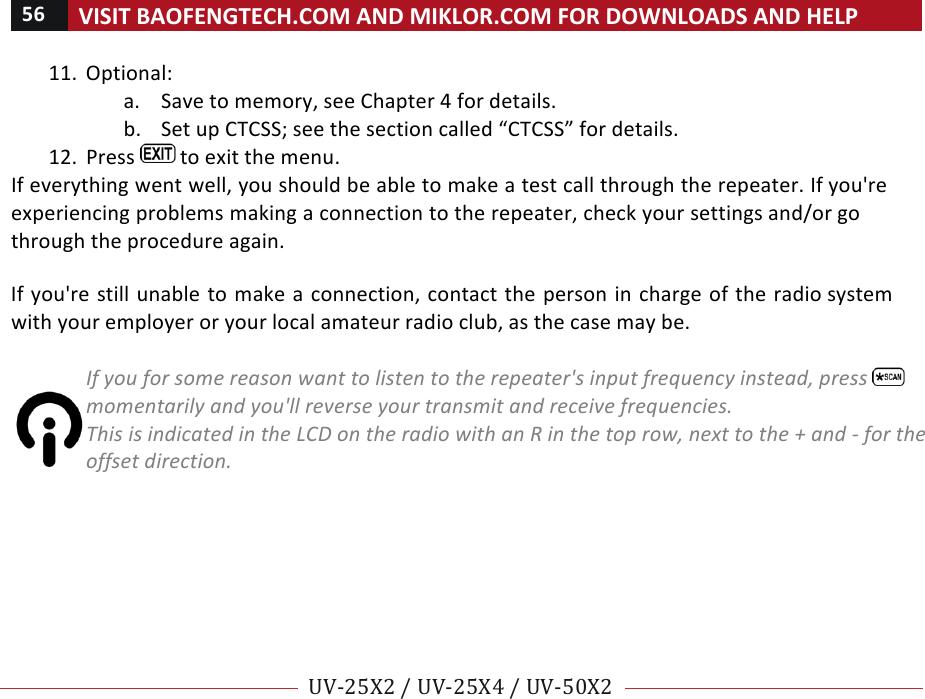 Btech 25XX Two-Way Radio User Manual 25X2 25X4 50X2 manualx