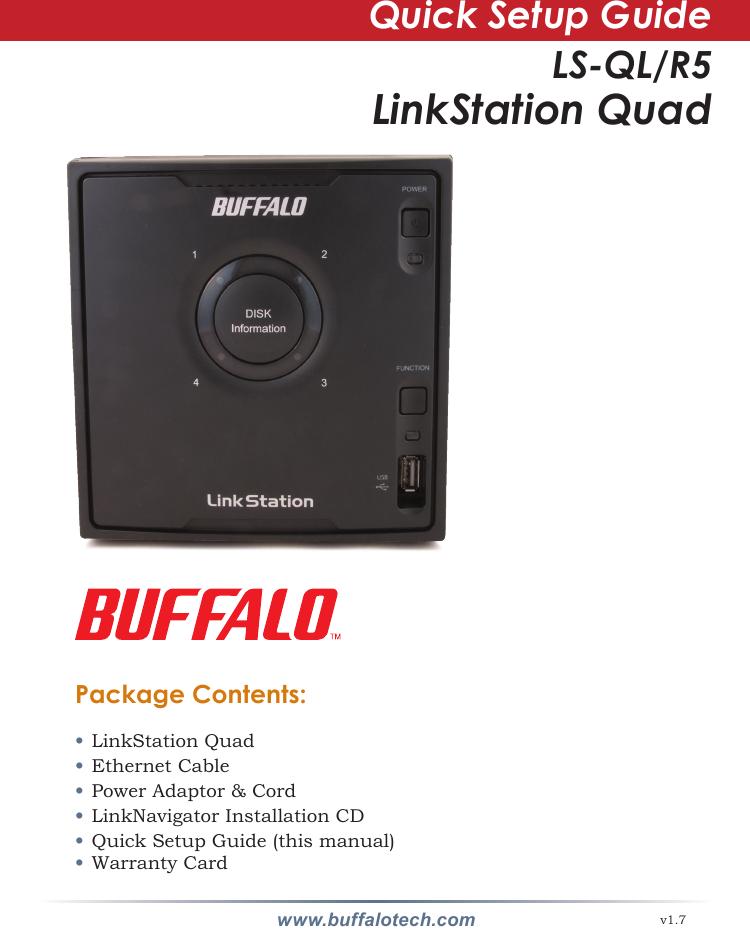 Buffalo Technology Ls Ql R5 Users Manual