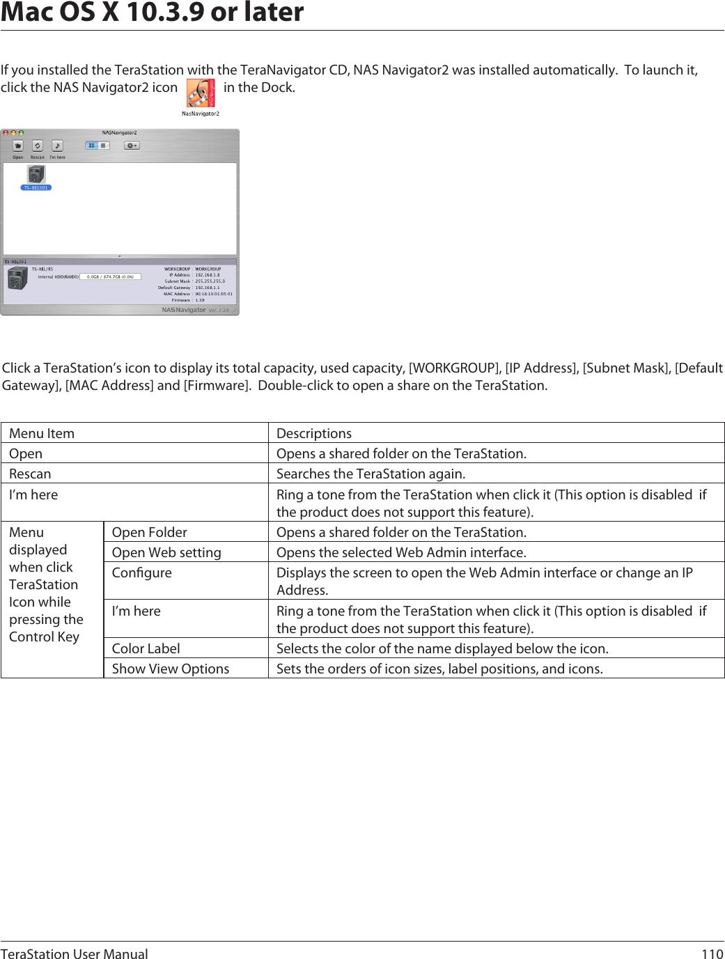 Buffalo Technology Terastation Ts Rxl Users Manual User