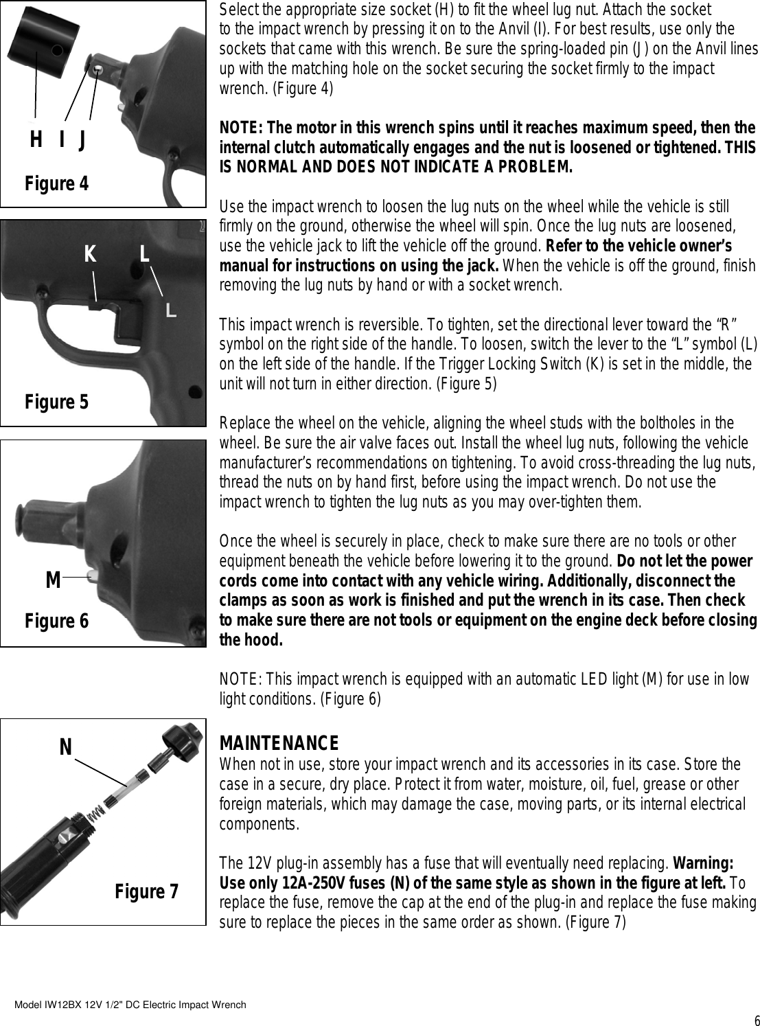 Buffalo tools iw12bx 12v users manual page 6 of buffalo tools buffalo tools iw12bx 12v users publicscrutiny Gallery