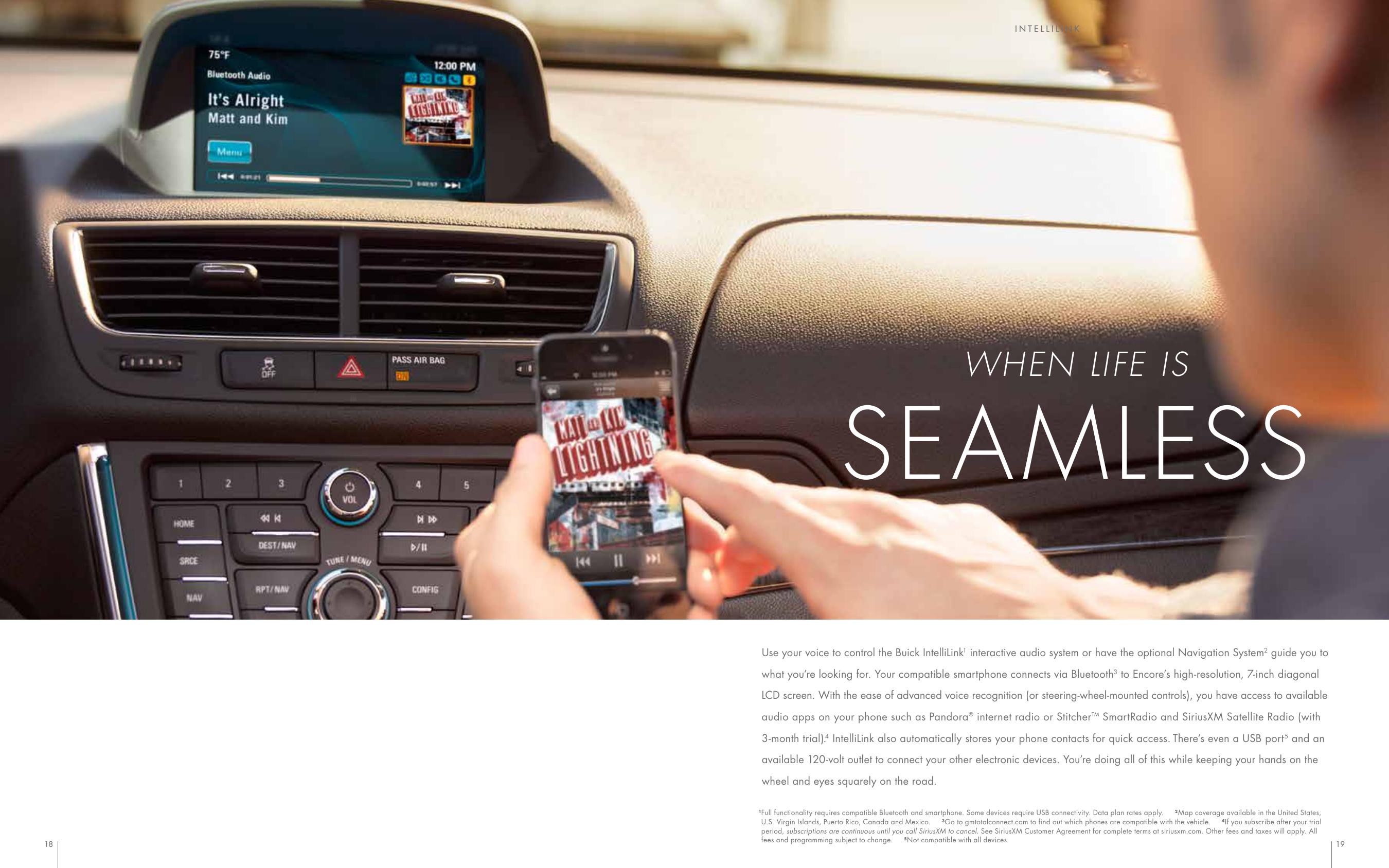 Buick 2015 Encore Brochure