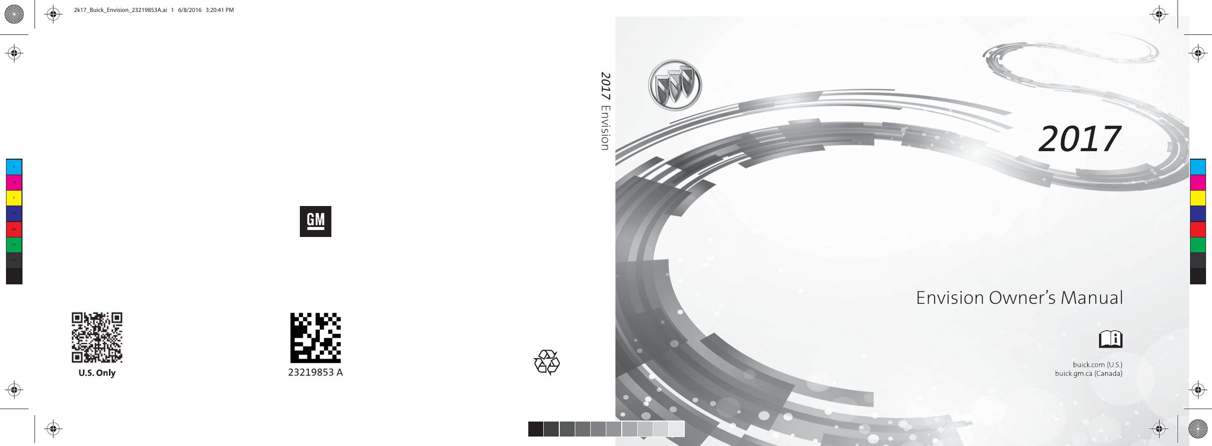 buick envision owners manual