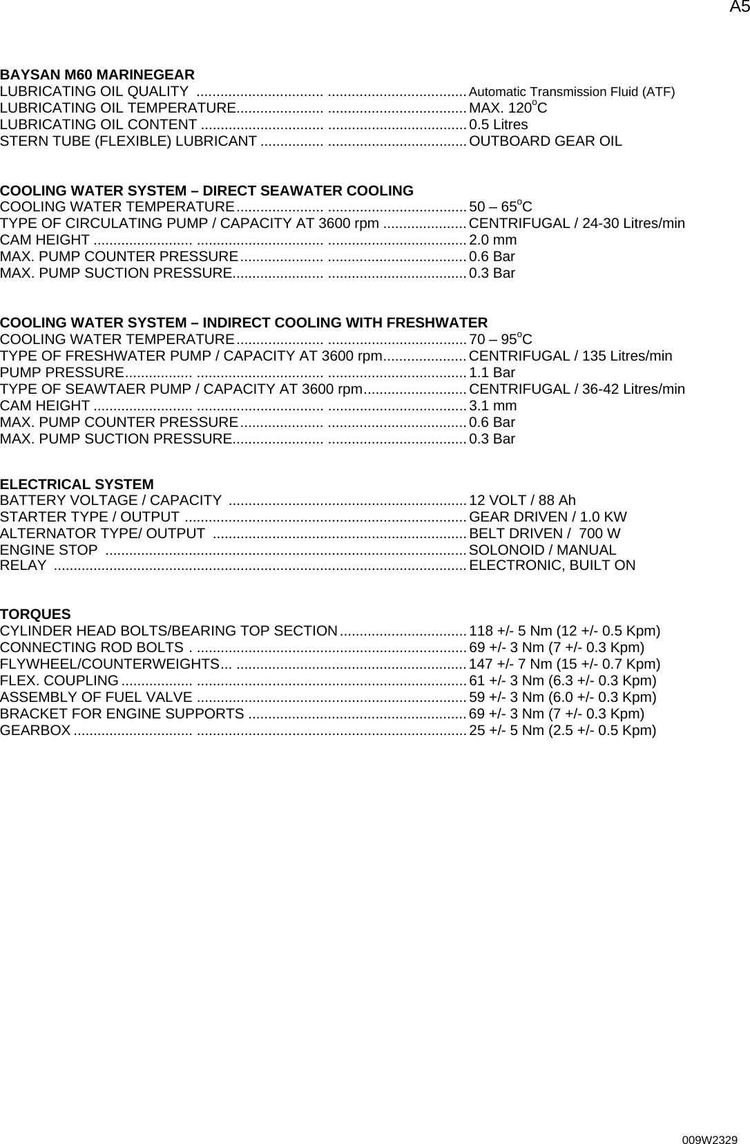Bukh Dv36 48 Workshop Manual 1003418 009W2329_SECTION Any User