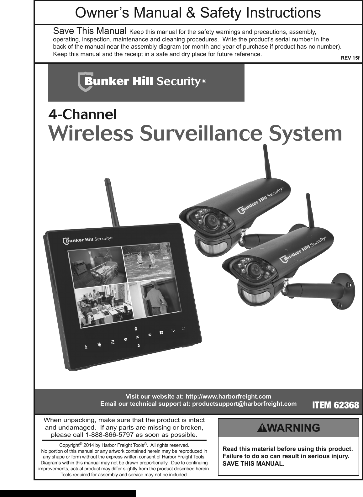 Bunker Hill Security 62368 Owners Manual 822388 Manualslib Makes It