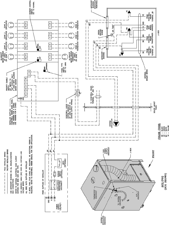 Burnham Pvg Users Manual Zone Wiring Box 34