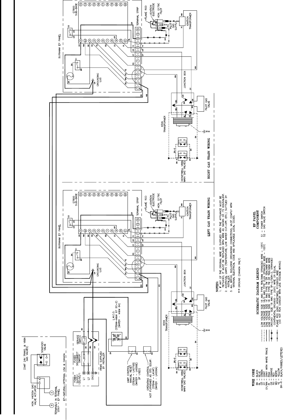Fein Weil Mclain Kanada Zeitgenössisch - Schaltplan Serie Circuit ...