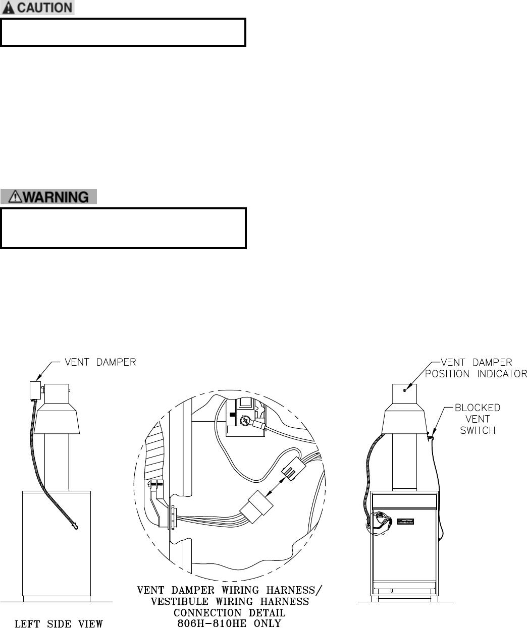 Burnham Series 8h 8he Boiler Installation And Operation Manual Vent Damper Wiring Diagram 31