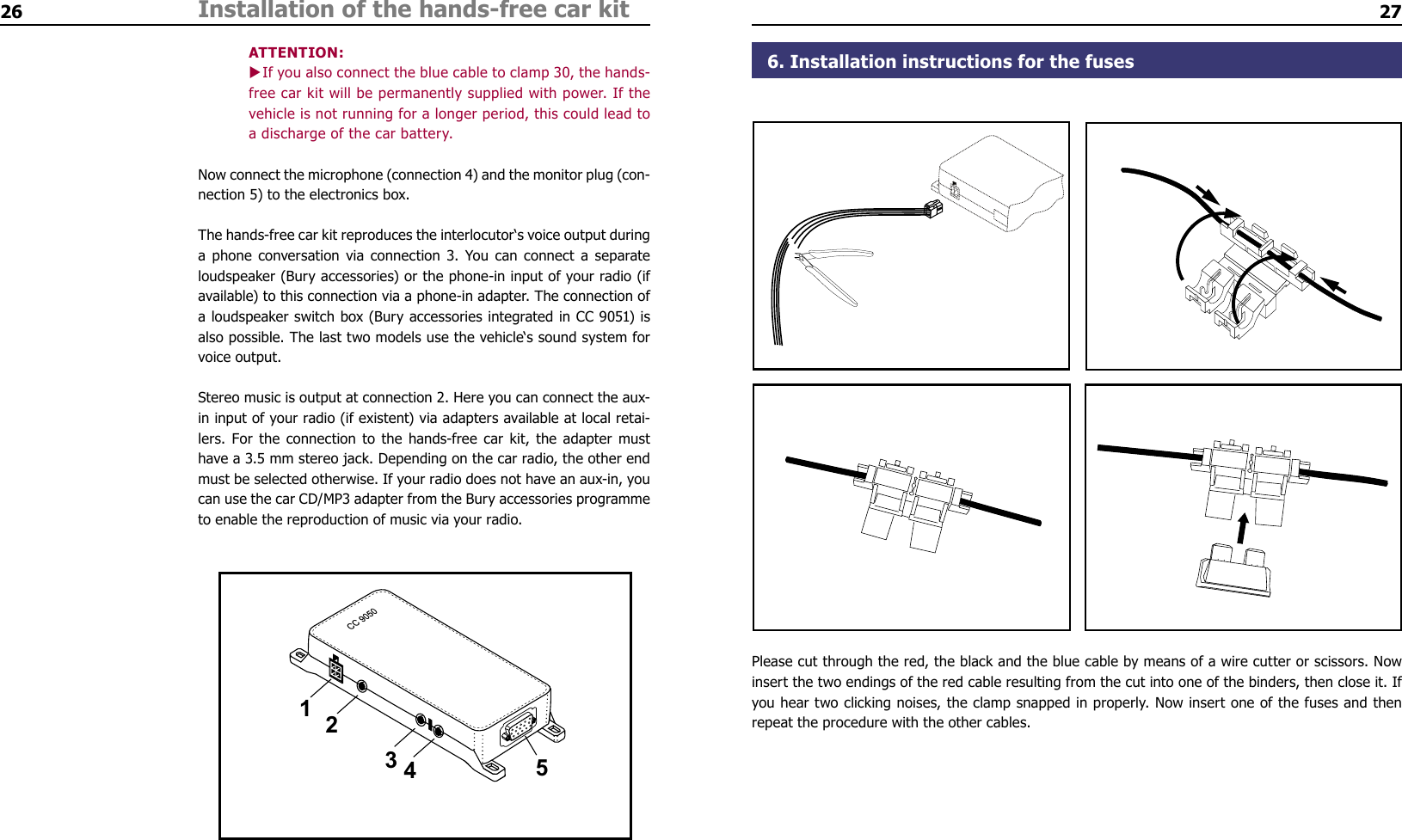 Bury Car Kit Wiring Diagram Free Download Amp And Co Kg Cc9040 51 Bluetooth Handsfree Carkit User Manual At