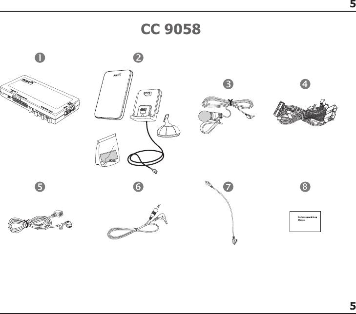 Bury And Co Kg Cc9048 Handsfree Car Kit User Manual Manual