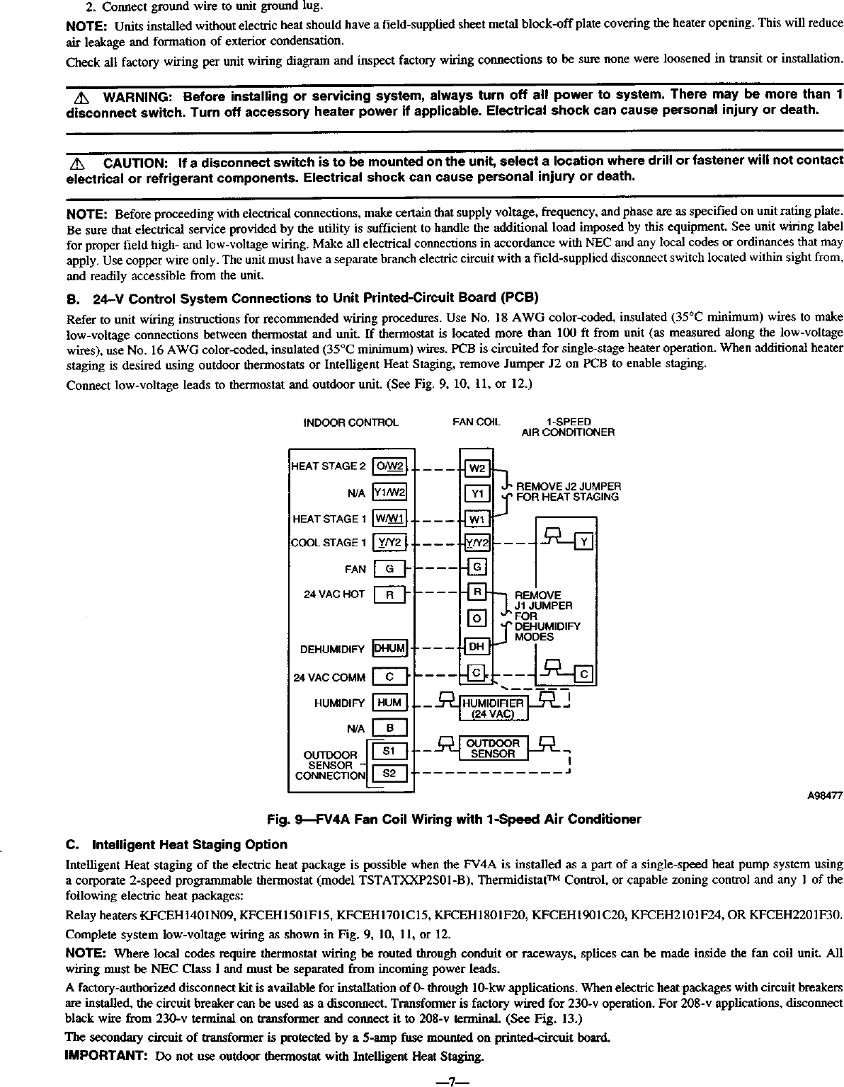 Condensation Pump Wiring Diagram With Fan Coil Unit | Wiring