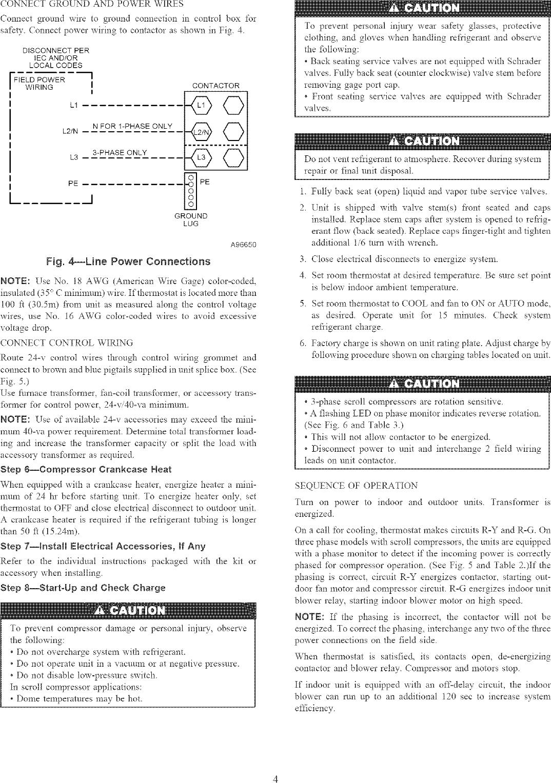 CARRIER Air Conditioner/heat Pump(outside Unit) Manual L0410530
