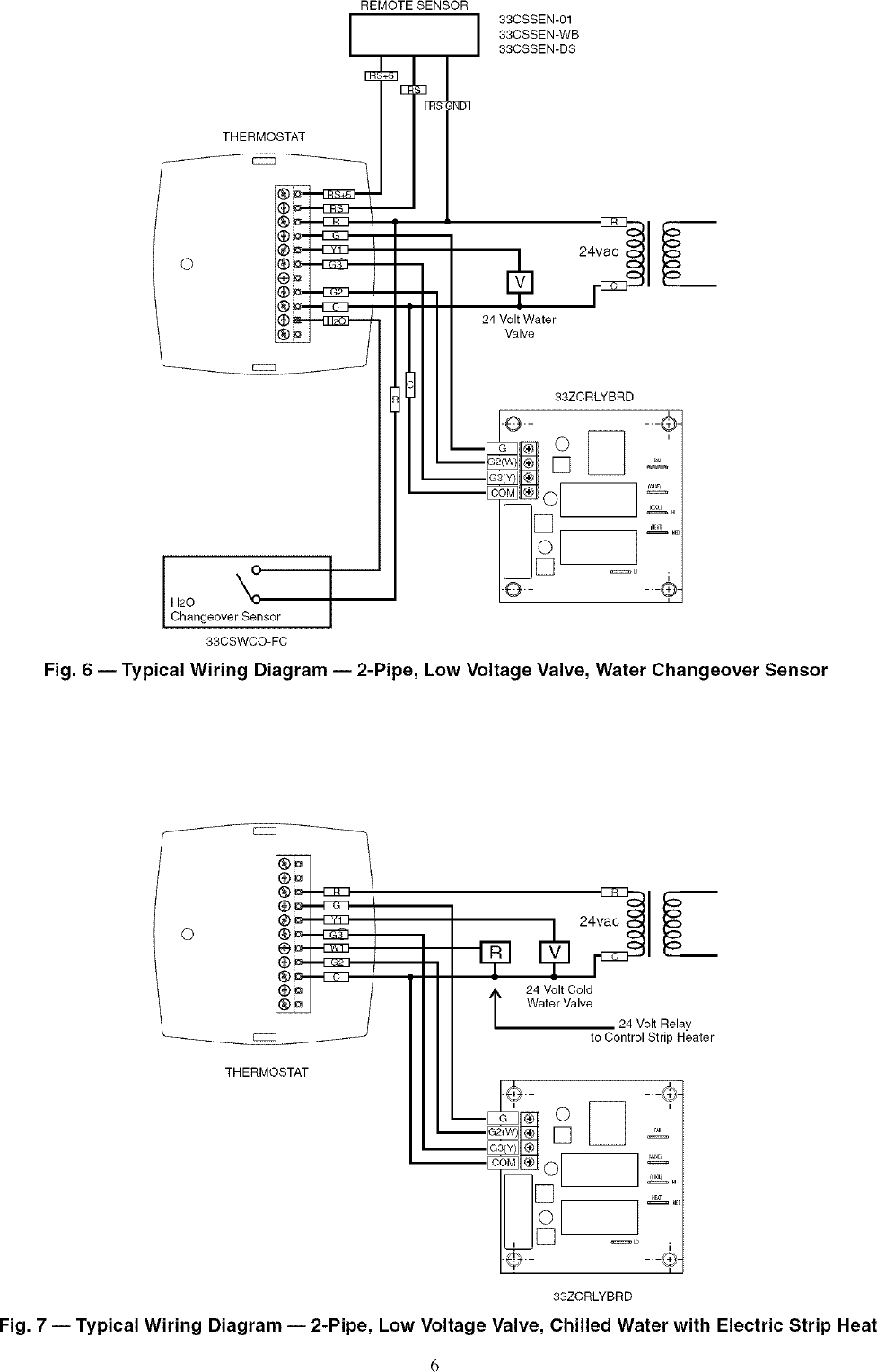 Carrier Controls And Hvac Accessories Manual L0604186 Strip Heat Wiring Diagram Page 6 Of 12
