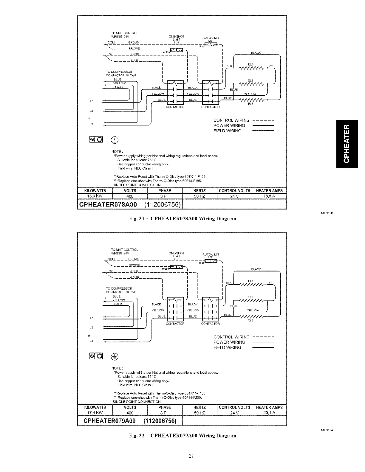 Carrier Package Unitsboth Units Combined Manual L0803488 Therm O Disc Wiring Diagrams Unit Control