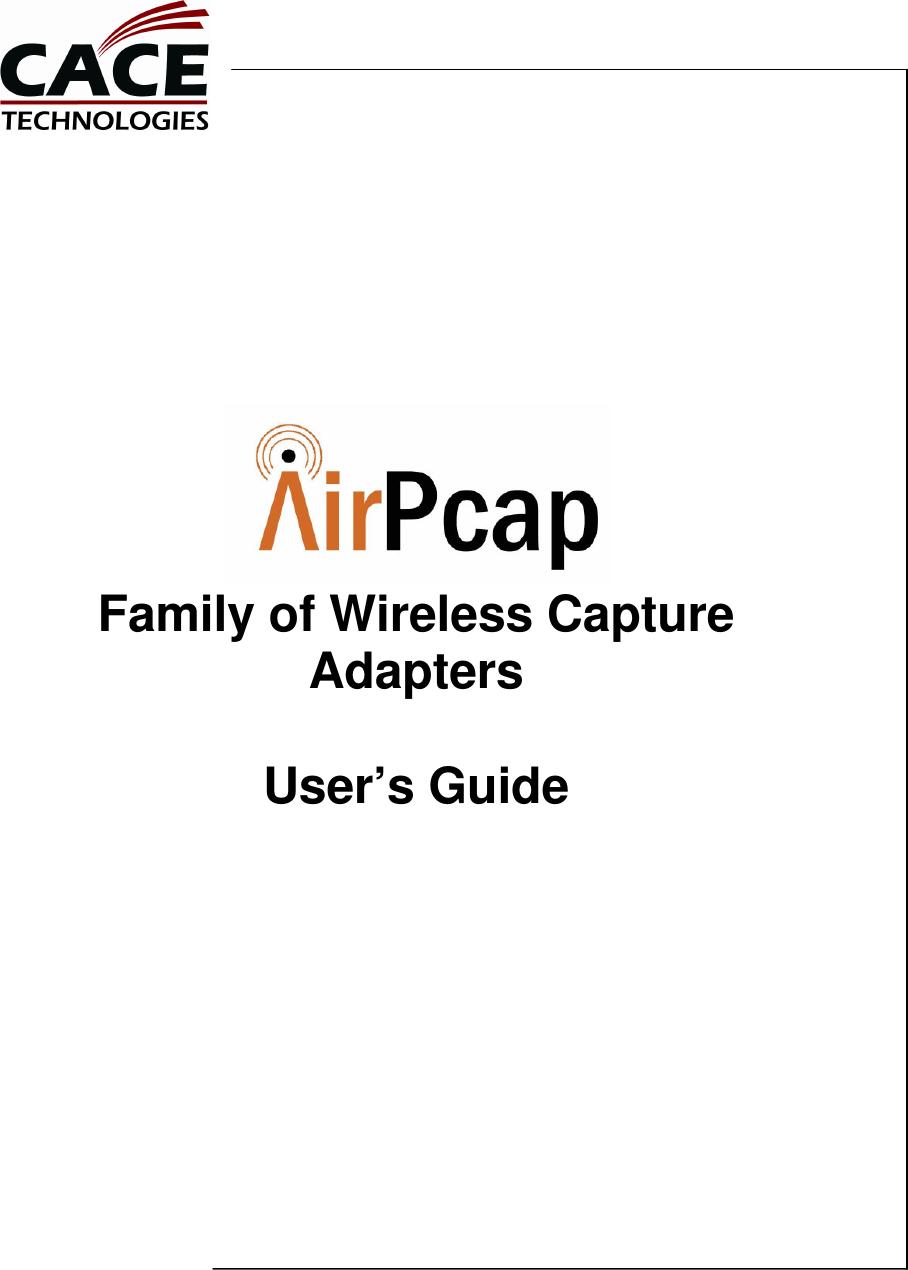 CACE AIRPCAP 64BIT DRIVER DOWNLOAD