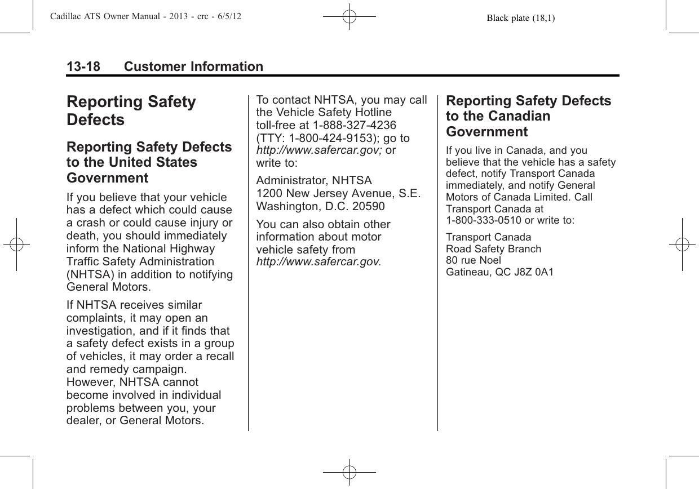 Cadillac 2013 Ats Users Manual 00 Introduction_en_US 1  6