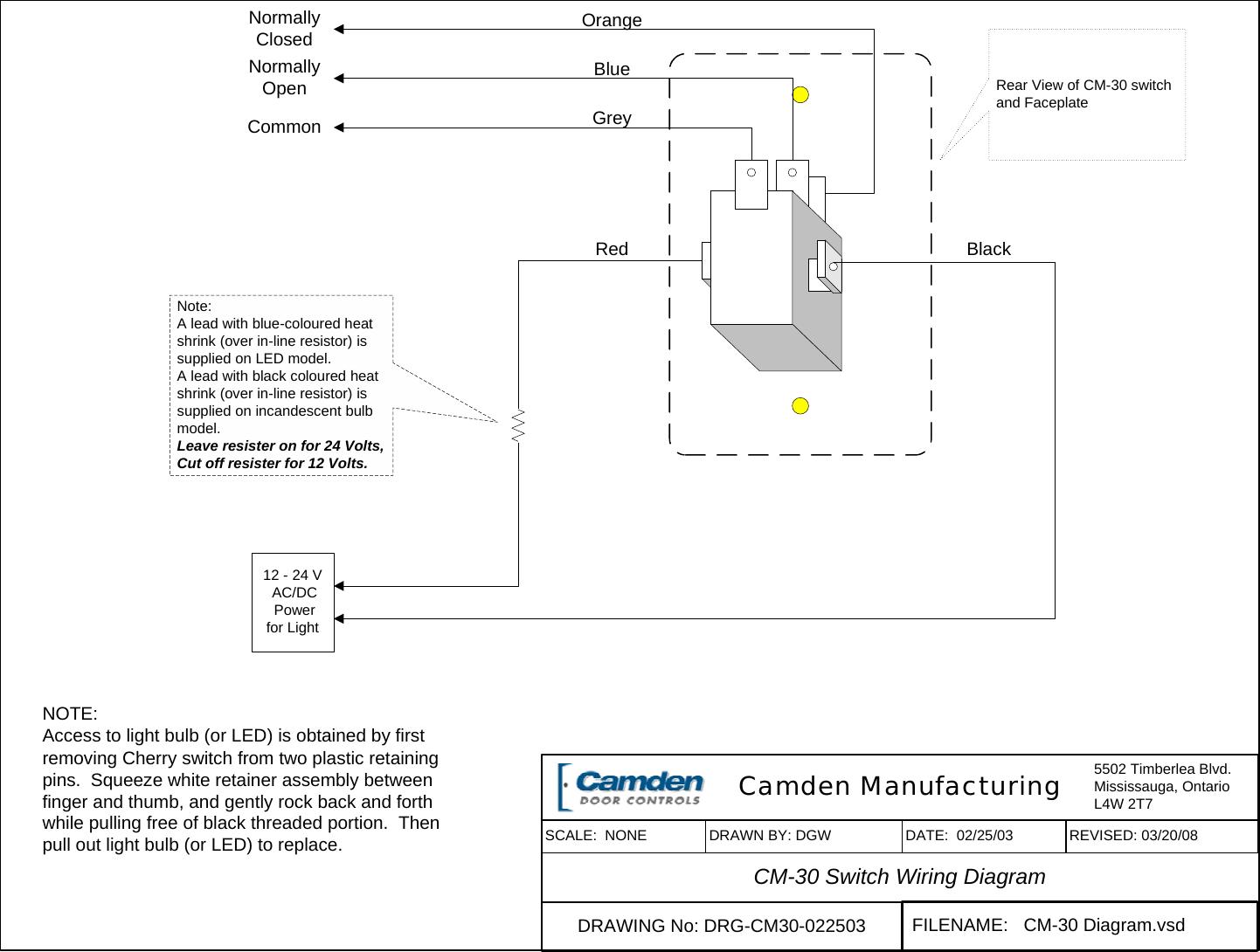 Cm Wiring Diagram Circuit Resource Omc 583653 Camden Visio 30 Switch A265 Rh Usermanual Wiki Lodestar Honda