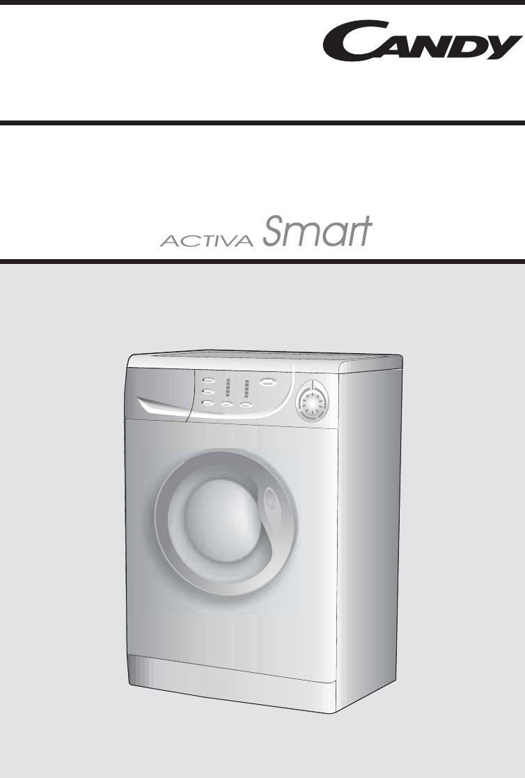 Candy Washing Machine Cm1146 Users Manual Activa Smart 40004328 Uk