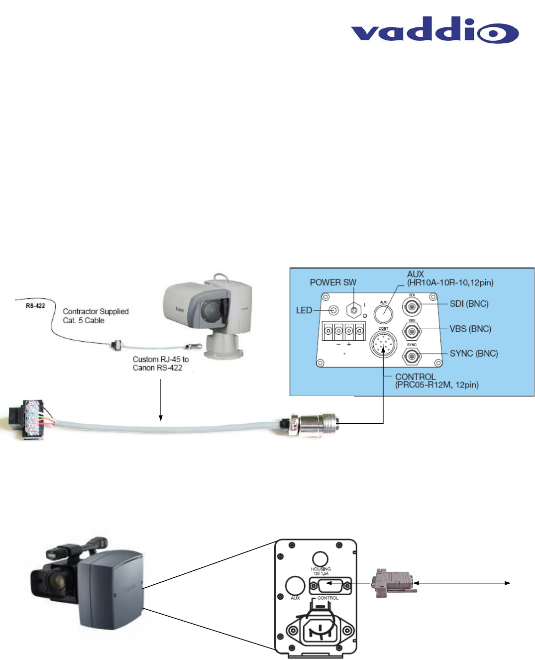 Cannon Bu 46h 341 909 Revb Canon 46 51 Manual User To The 4fe8b03d Cat 5 Wiring Diagram For Camera Series Ptz Systems
