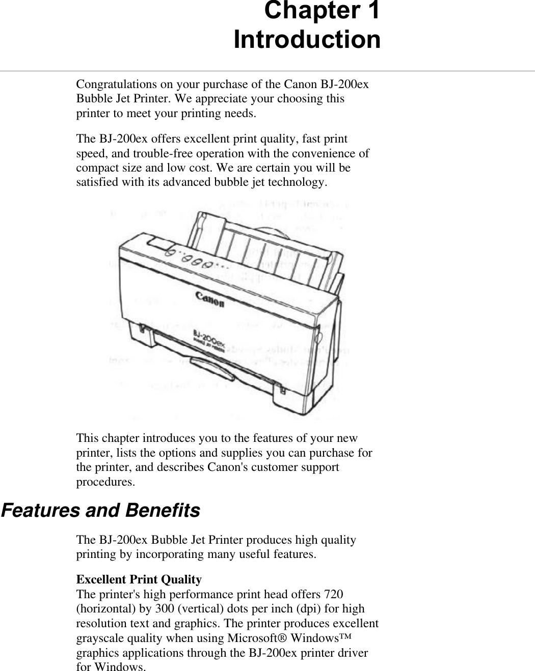 DRIVER UPDATE: CANON BJ-200EX