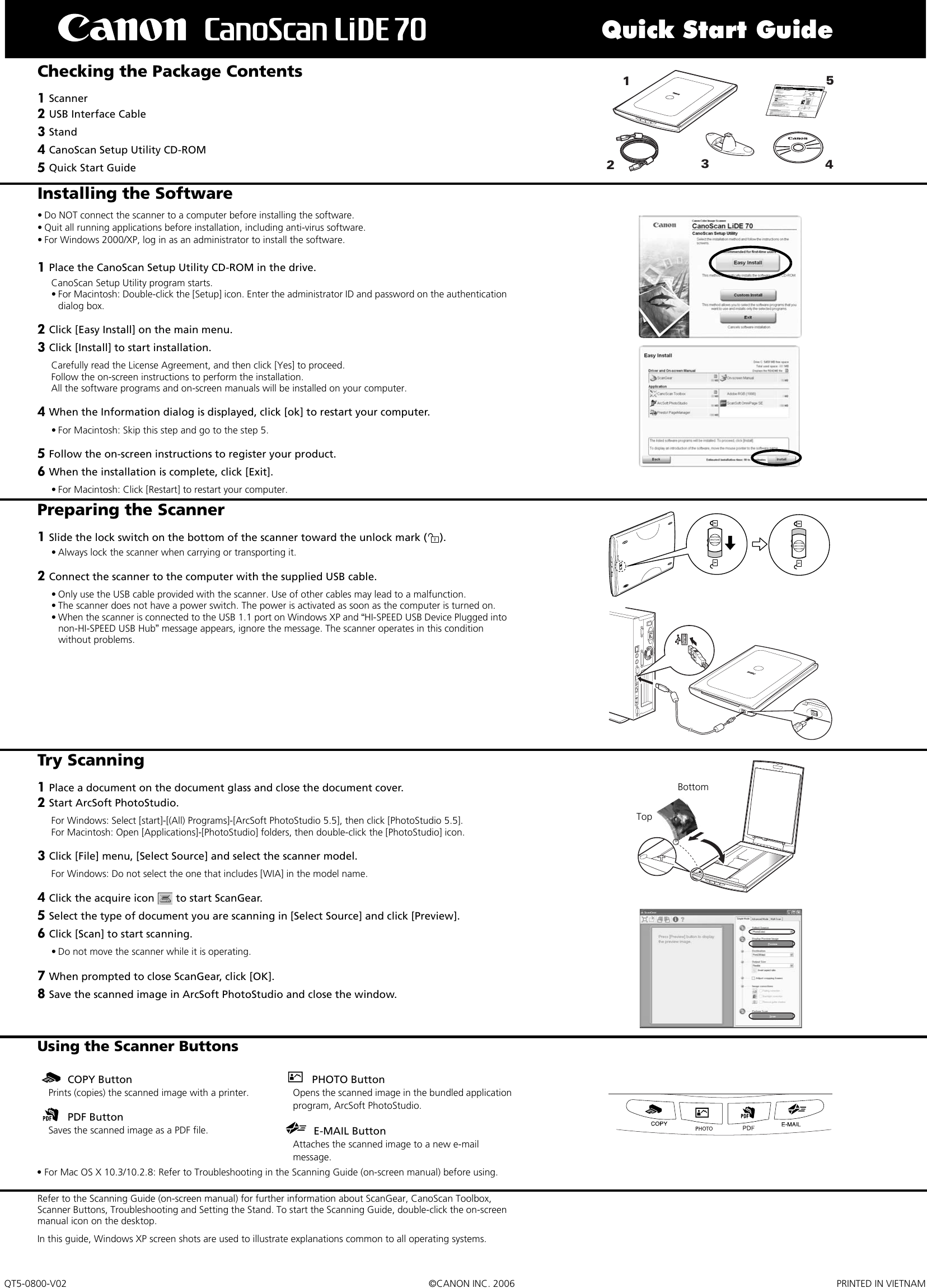 arcsoft photostudio 6 manual