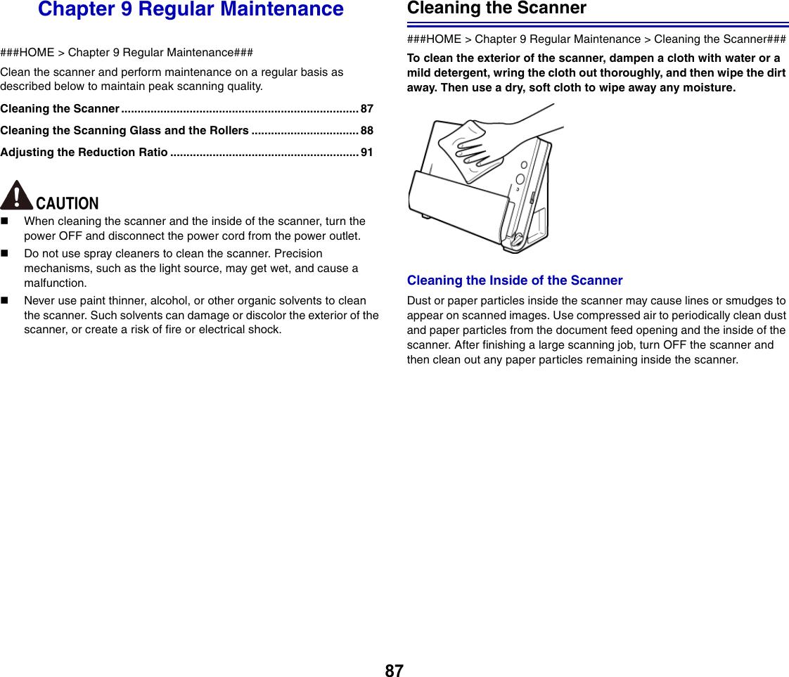 Canon Imageformula Dr C225 Office Scanner Users Manual C225/DR C225W