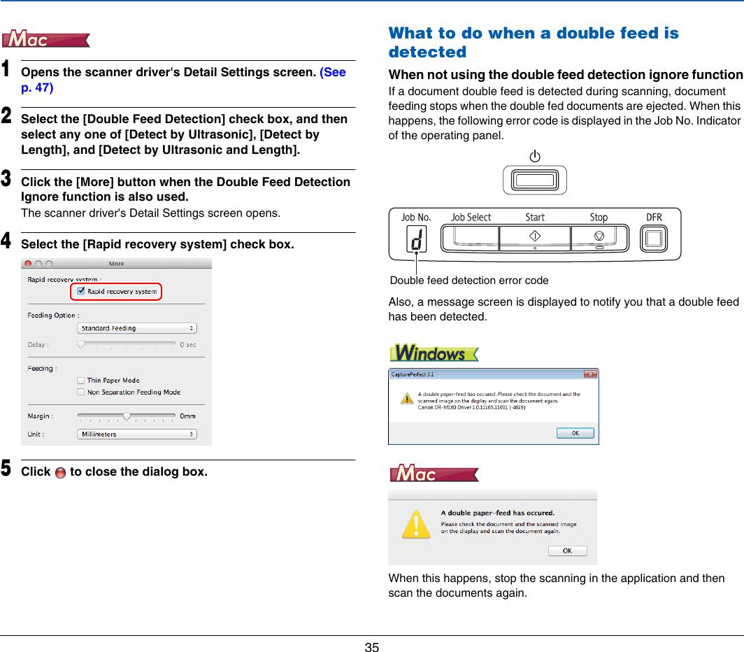 Canon Imageformula Dr M160Ii Office Scanner Users Manual User