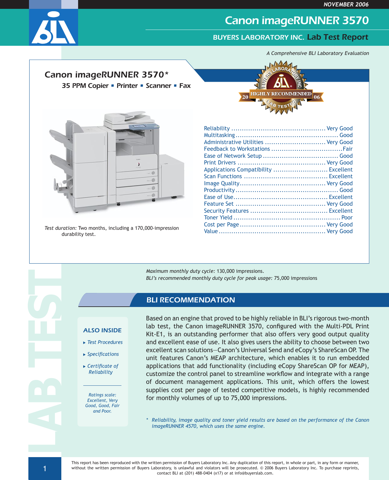 Canon Ir 3570 Users Manual