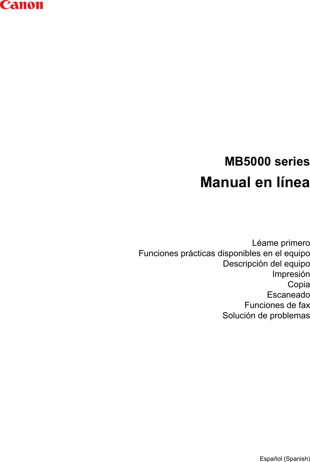 Canon Maxify Mb5020 Manual For Windows