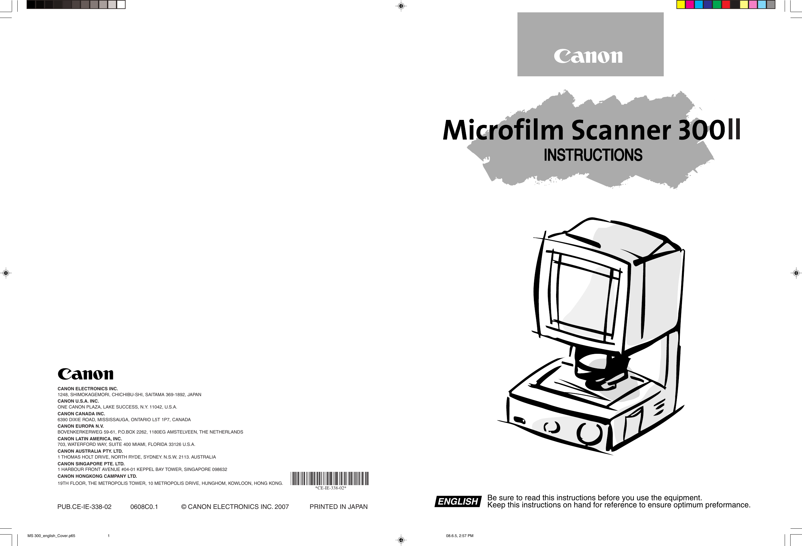 CANON MS300 DRIVERS FOR WINDOWS