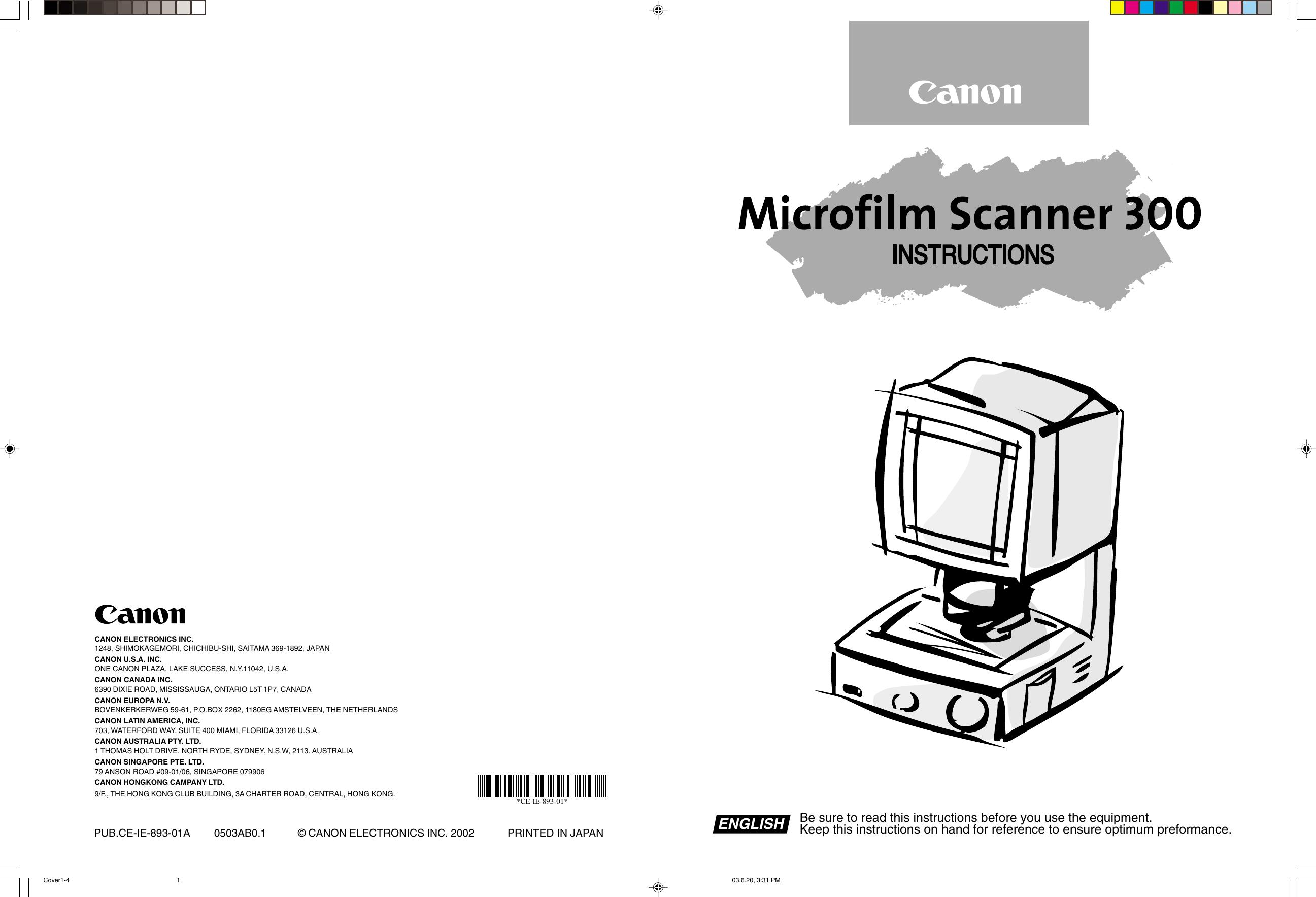 CANON MICROFILM SCANNER 300 WINDOWS XP DRIVER DOWNLOAD