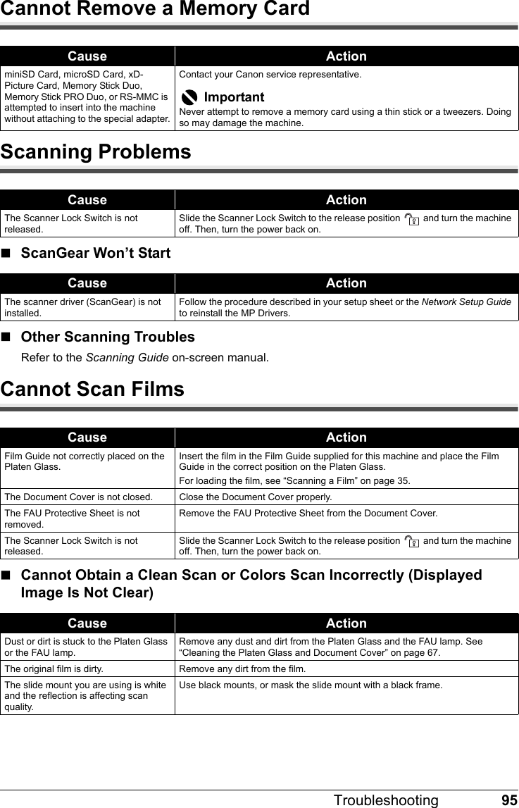 Canon Mp970 Users Manual